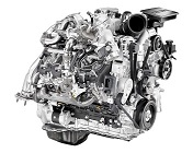 GMC Duramax diesel engine for truck